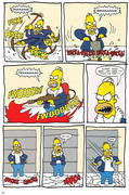 Simpsons Winter Wing Ding #1