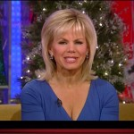 Gretchen Carlson Fox News - Cleavage & Sexy Blue Dress