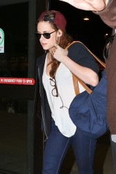 Kristen Stewart - at LAX Airport 12/27/12