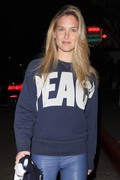 Bar Refaeli - leaving the Chateau Marmont in West Hollywood 1/4/13