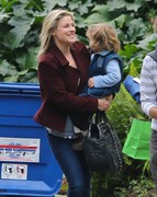 Ali Larter - arrives at a birthday party in LA 1/5/13