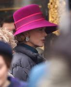 Nicole Kidman - on the set of 'Grace of Monaco' in Paris 1/6/13