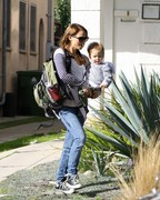 Natalie Portman - visits a friend in Beverly Hills 1/9/13