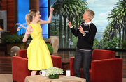 Emma Stone on Ellen Degeneres Jan. 10