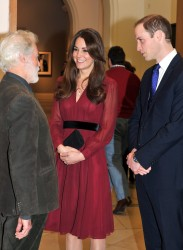 Catherine, Duchess of Cambridge - portrait unveiling at the National Portrait Gallery in London 1/11/13
