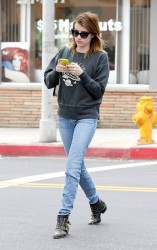 Emma Roberts - out and about in Beverly Hills 1/23/13