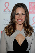 Hilary Swank - Sidaction Gala Dinner 2013 in Paris 1/24/13