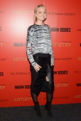 Lindsay Ellingson - 'Warm Bodies' screening in New York 1/25/13