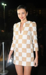 Miranda Kerr - Louis Vuitton store opening in Cancun 1/25/13