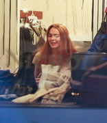 Lindsay Lohan - out shopping in New York 1/26/13
