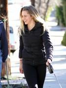 Teresa Palmer - walking her dog in LA 1/28/13