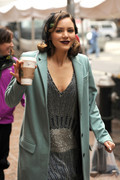 Katharine McPhee - on the set of 'Smash' in NYC 1/30/13