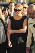 Lindsay Lohan - arrives at the courthouse in LA 1/30/13