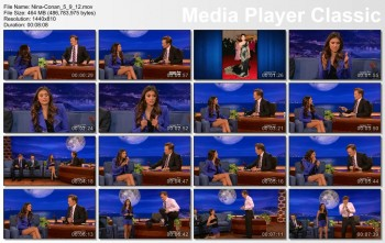 Nina Dobrev - Conan 9th May 2012 1080i