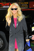 Jenny McCarthy - arrives at the Today show in NYC 2/4/13