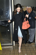 Emmy Rossum - at Live! with Kelly and Michael in NYC 2/11/13