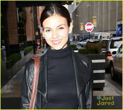 Victoria Justice out in NYC - February 12, 2013