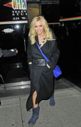 Jenny McCarthy - at The Wendy Williams Show in NY 2/14/13