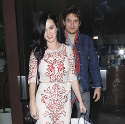 Katy Perry - dinner at Vicenti in LA 2/14/13