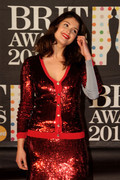 Gemma Arterton - Brit Awards 2013 in London 2/20/13