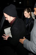 Jessica Biel - heading to the Brit Awards 2013 after party in London 2/20/13