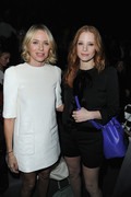 Jessica Chastain &amp;amp; Naomi Watts - Louis Vuitton F/W 2013 fashion show in Paris 3/6/13