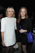 Jessica Chastain & Naomi Watts - Louis Vuitton F/W 2013 fashion show in Paris 3/6/13