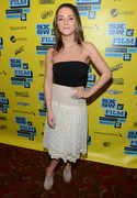 Addison Timlin - 'The Bounceback' photo op at 2013 SXSW in Austin 3/9/13