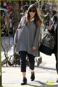 Jessica Biel - out and about in NYC 3/9/13