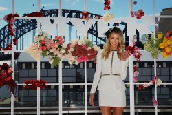 Jennifer Hawkins - Myer A/W Racing Collection preview in Sydney 3/12/13