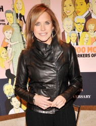 Katie Couric - The New York Observer 25th Anniversary Party in NYC 3/14/13