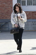Demi Lovato - out and about in Beverly Hills 3/15/13