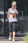 Ireland Baldwin - leaving a gym in LA 3/16/13