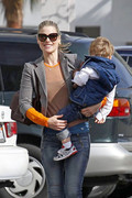 Ali Larter - out in LA 3/21/13