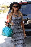 Paris Hilton - at LAX Airport 3/21/13
