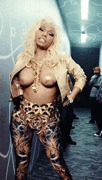 Nicki Minaj (pasties) - Freaks - 2013 (animated GIF)