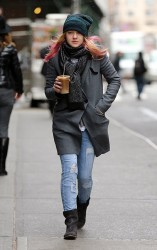Dakota Fanning - out in NYC 3/25/13