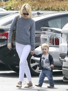 January Jones - out in Pasadena 3/25/13
