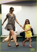 Katie Holmes - at Disney World in Orlando 3/25/13