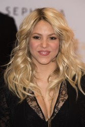 Shakira - S by Shakira Perfume launch in Paris 3/27/13