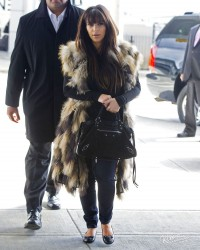 Kim Kardashian - At JFK Airport 3/27/13