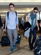 Olivia Wilde - at LAX Airport 3/28/13