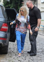 Fergie - Out and about in Rio De Janeiro 4/3/13