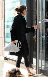 Katie Holmes - out in NYC 4/4/13