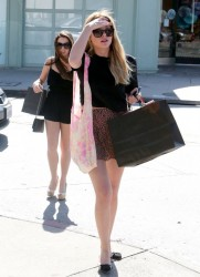 Ashley Benson - Shopping in Studio City 4/6/13