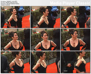 PATRICIA HEATON cleavage - Golden Globes 2001 - video - *cleavage*