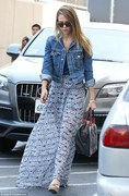 Jessica Alba - out in LA 4/11/13