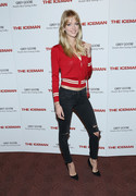 Lindsay Ellingson - 'The Iceman' screening in NYC 4/29/13