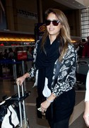Jessica Alba - at LAX Airport 4/30/13