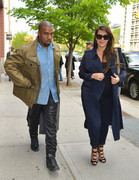 Kim Kardashian - Out and about in NYC 5/6/13